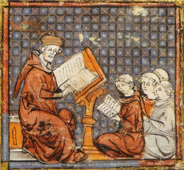 Resultado de imagem para The teaching of Logic or Dialectics from a collection of scientific, philosophical and poetic writings, French, 13th century;